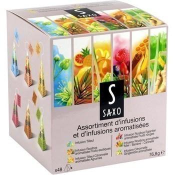 Assortiment d'infusions et d'infusions aromatisées x48 - Epicerie Sucrée - Promocash Pamiers