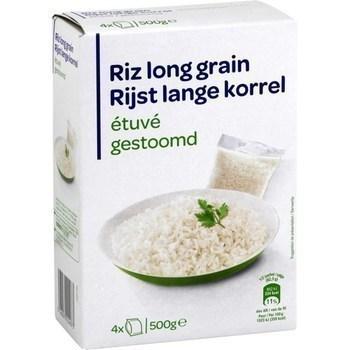 Riz long grain étuvé 4x125 g - Epicerie Salée - Promocash Albi