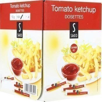Tomato ketchup 100x10 g - Epicerie Salée - Promocash Dax