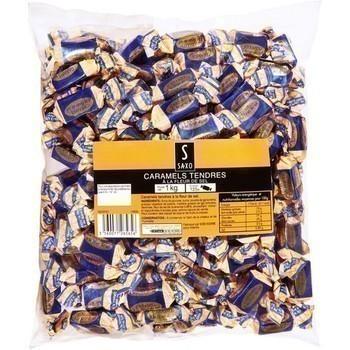 Caramel tendres à la fleur de sel 1 kg - Epicerie Sucrée - Promocash Arles
