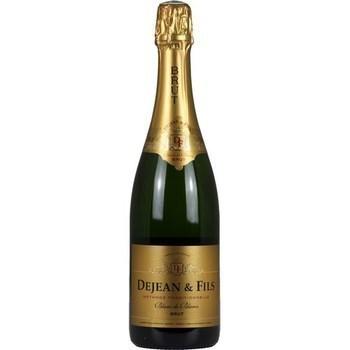 Blanc de Blancs brut Dejean & Fils 11° 75 cl - Vins - champagnes - Promocash Albi