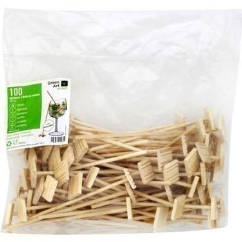 Agitateurs à Mojito en bambou 180 mm x100 - Bazar - Promocash Albi