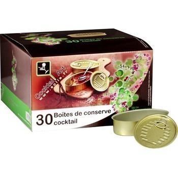 Boîtes de conserve Cocktail - Bazar - Promocash Toulon