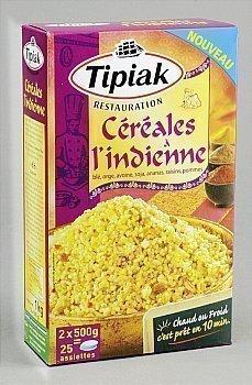 Céréales à l'indienne - en sachet de 500 g 25 portions - la boîte de 1 kg - Epicerie Salée - Promocash Nantes