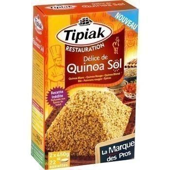 Délice de quinoa Sol 2x450 g - Epicerie Salée - Promocash LA FARLEDE