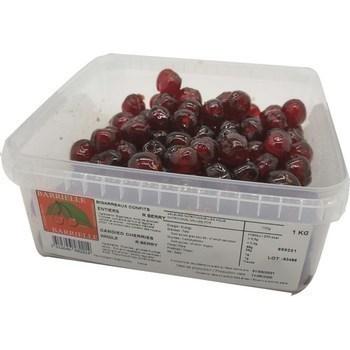 Bigarreaux rouges Berry 20/24 1 kg - Epicerie Sucrée - Promocash Annemasse