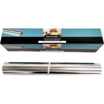 Papier aluminium avec scie de découpe 200 mx0,45 m - Bazar - Promocash Valenciennes