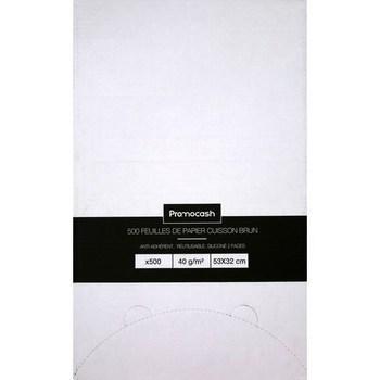 Feuilles papier cuisson 53 x 32 cm brun - Bazar - Promocash Aix en Provence