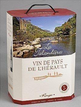 Vin de pays de l'Hérault - Les Talandières 12,5° 5 l - Vins - champagnes - Promocash Annemasse