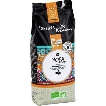 Café en grains Moka bio 1 kg - Epicerie Sucrée - Promocash Albi