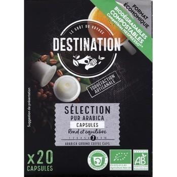 Capsules de café pur arabica Sélection bio x20 - Epicerie Sucrée - Promocash Albi