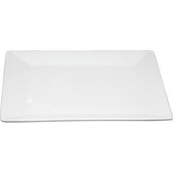 Assiette présentation porcelaine carrée 29x29 cm - Bazar - Promocash Thionville