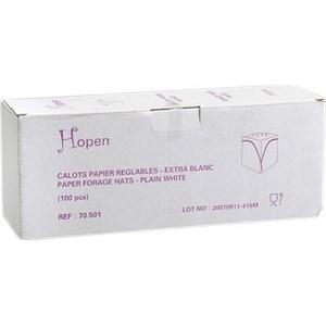 Calottes réglables en papier blanc - le lot de 100 - Bazar - Promocash Castres