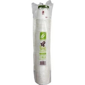 Gobelets biodégradables 10 cl x50 - Bazar - Promocash Granville