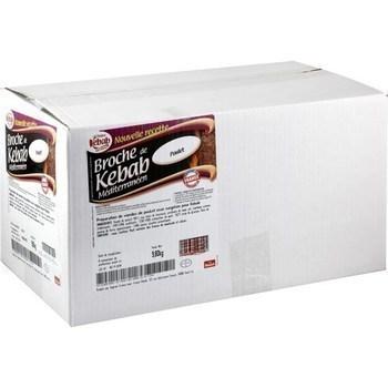 Broche de kebab méditerranéen poulet halal 10 kg