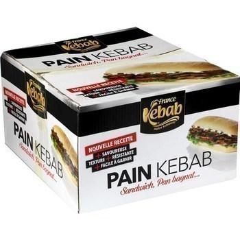 Pain rond kebab 36x110 g - Surgelés - Promocash Gap