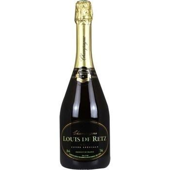 Champagne brut cuvée spéciale Louis de Retz 12° 75 cl - Vins - champagnes - Promocash Albi