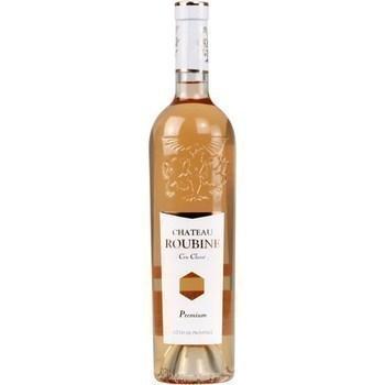 Côtes de Provence Premium Cru Classé Château Roubine 13° 75 cl - Vins - champagnes - Promocash Colombelles