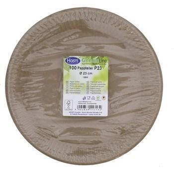 Assiettes en carton GreenLine D23 cm x100 - Bazar - Promocash Vannes