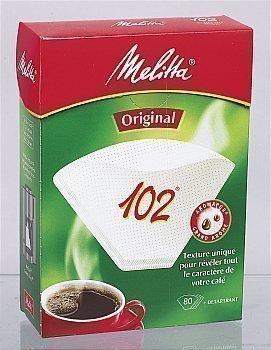 Filtre à café 102 + 1 détartrant - la boîte de 80 - Epicerie Sucrée - Promocash Anglet