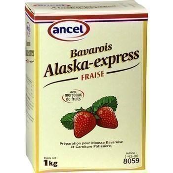 Bavarois Alaska-express fraise - Epicerie Sucrée - Promocash Bergerac