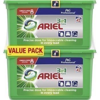 Dosettes de lessive 3en1 Pods x84 - Hygiène droguerie parfumerie - Promocash Albi