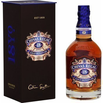 Blended Scotch Whisky Gold Signature 18 ans d'âge 70 cl - Alcools - Promocash Thonon