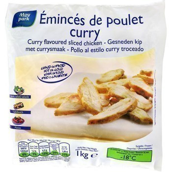 Emincés de poulet curry 1 g - Surgelés - Promocash Gap