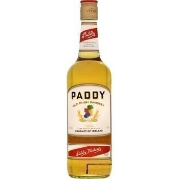 Whiskey PADDY 40° - la bouteille de 70 cl - Alcools - Promocash Anglet