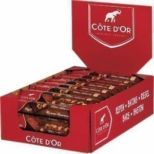 Bâton chocolat noir et noisettes 45 g - Epicerie Sucrée - Promocash Millau