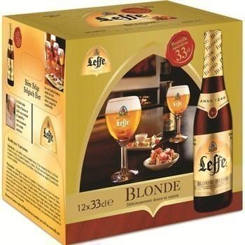 Bière blonde délicieusement douce et subtile - Brasserie - Promocash Limoges