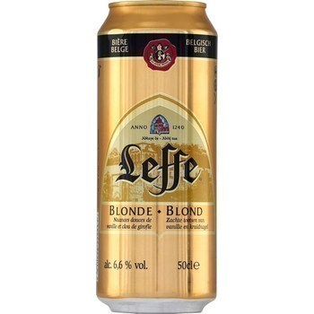 Bière blonde 50 cl - Brasserie - Promocash Mulhouse