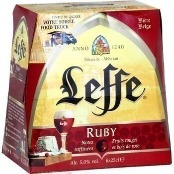 Bière Belge Ruby 6x25 cl - Brasserie - Promocash Carcassonne
