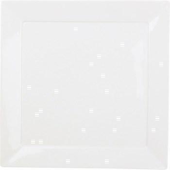 Assiette carrée 20 cm plume 050746 - Bazar - Promocash Grenoble
