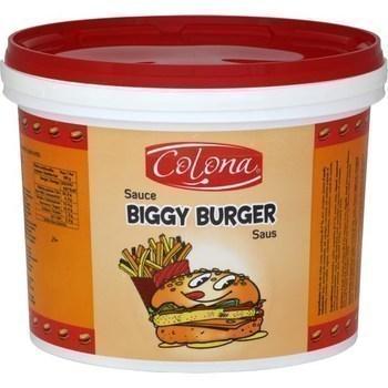 Sauce Biggy Burger 4,75 kg