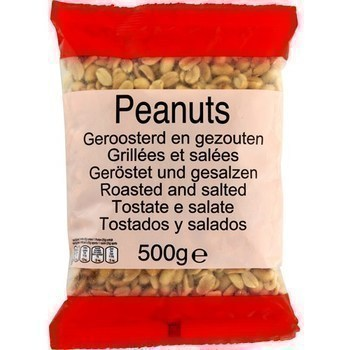 Peanuts grillées et salées - Epicerie Sucrée - Promocash Gap
