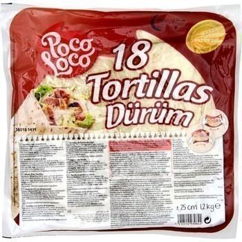 Tortillas x18