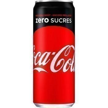 Soda au cola zero sucres 33 cl - Brasserie - Promocash Dax