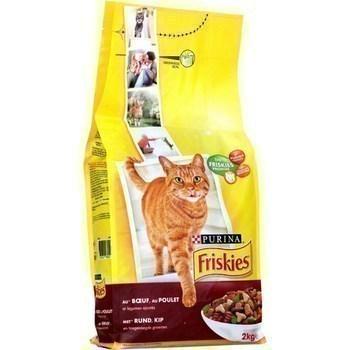 Croquettes boeuf poulet et légumes pour chats adultes 2 kg - Epicerie Salée - Promocash Gap