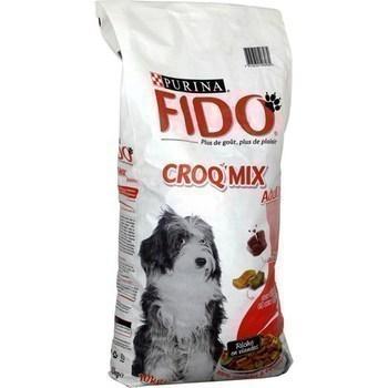 Croquettes Croq Mix Adulte au boeuf pour chiens 10 kg - Epicerie Salée - Promocash Gap