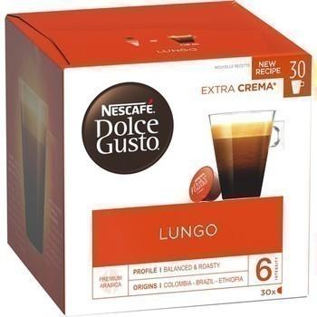 Capsules de café Lungo 30x6,5 g - Epicerie Sucrée - Promocash Rouen