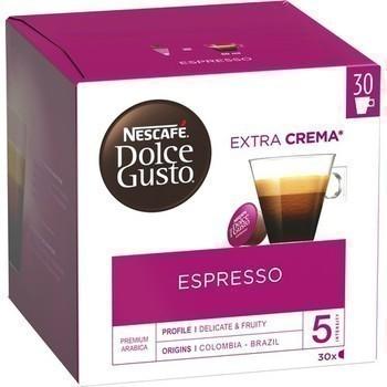 Capsules de café Espresso 30x5,5 g - Epicerie Sucrée - Promocash LA FARLEDE