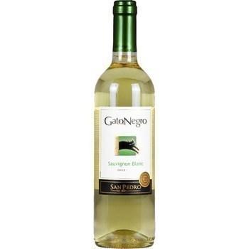 Vin du Chili Sauvignon blanc Gato Negro 12,5° 75 cl - Vins - champagnes - Promocash Bordeaux