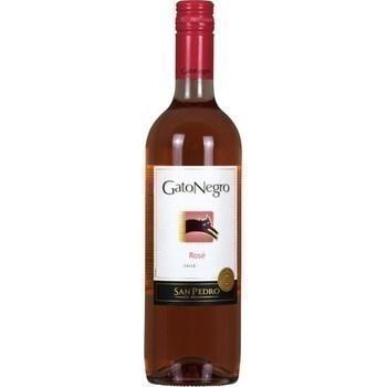 Vin du Chili rosé Gato Negro 12,5° 75 cl - Vins - champagnes - Promocash Amiens