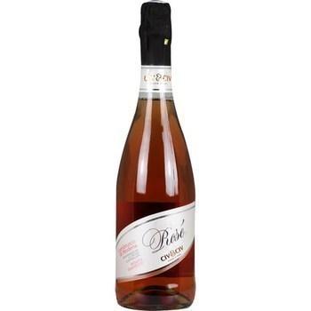 Vin pétillant Lambrusco di Modena rosé demi-sec CIV&CIV 9° 75 cl - Vins - champagnes - Promocash Dreux