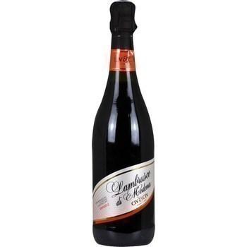 Vin pétillant Lambrusco di Modena doux CIV&CIV 8° 75 cl - Vins - champagnes - Promocash Metz