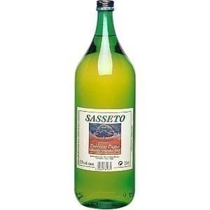 Vin d'Italie blanc Sasseto 11% 2 l - Vins - champagnes - Promocash Avignon