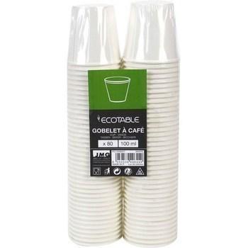 Gobelet à café 100ml blanc x80 - Bazar - Promocash Albi