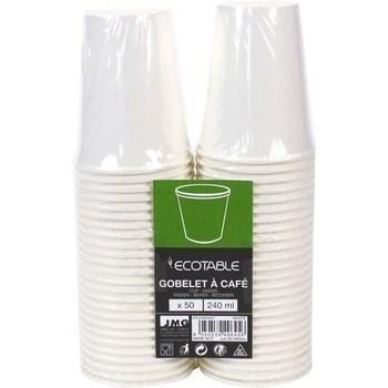 Gobelet à café 240ml blanc x50 - Bazar - Promocash Annecy