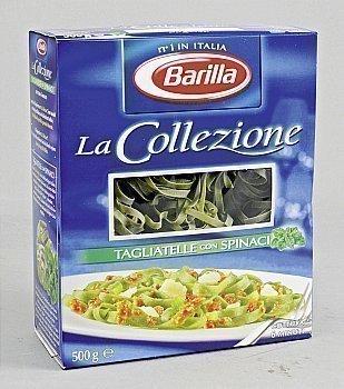Tagliatelles con spinaci La Collezione - la boîte de 500 g - Epicerie Salée - Promocash Castres